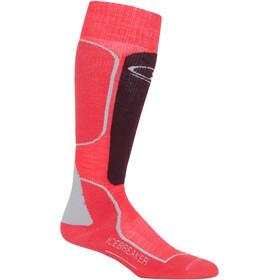 Icebreaker Ski+ Medium - Calcetines Mujer - rosa